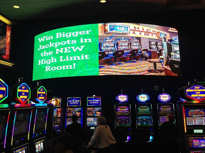 LED display For Gaming and Casino