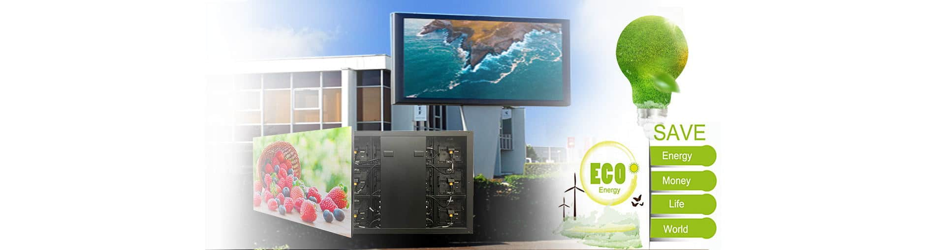 %name Outdoor led display