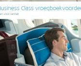Vlieg in luxe! Tot 60% KLM World Business Class vroegboekvoordeel