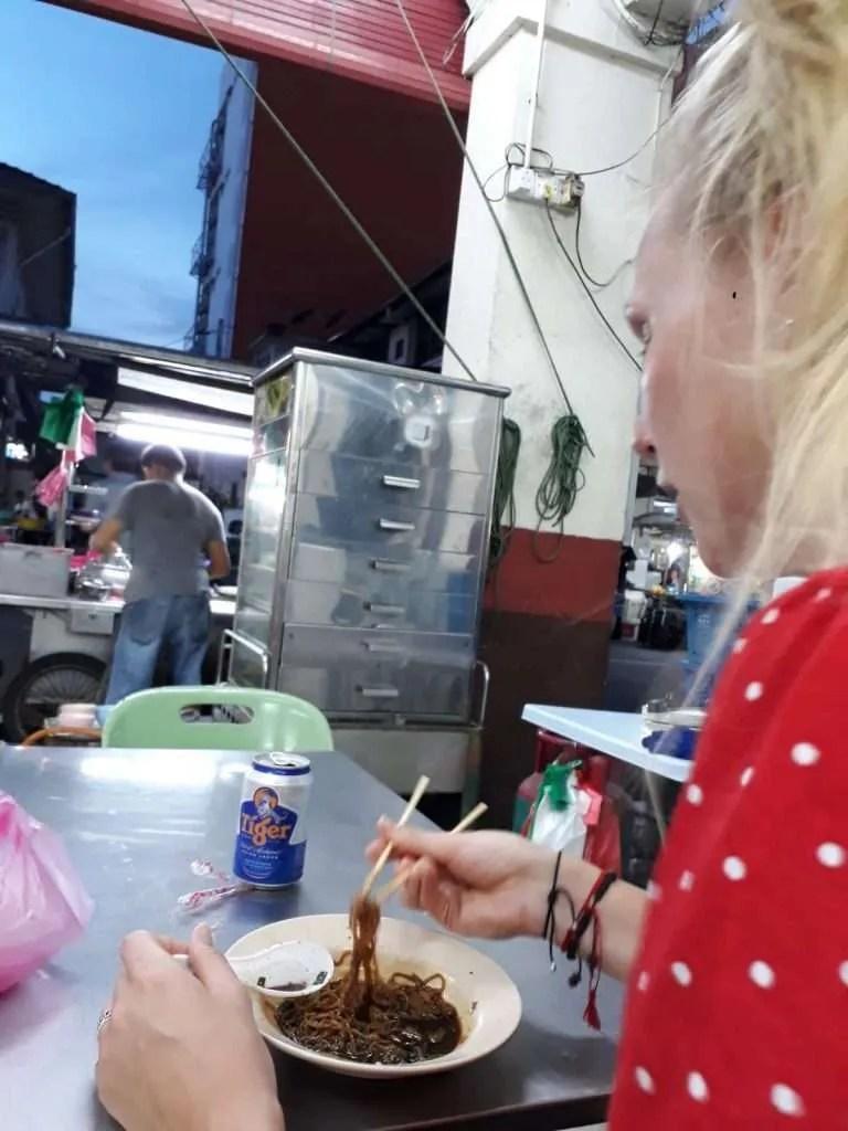 girl streetfood George Town Penang Malaysia