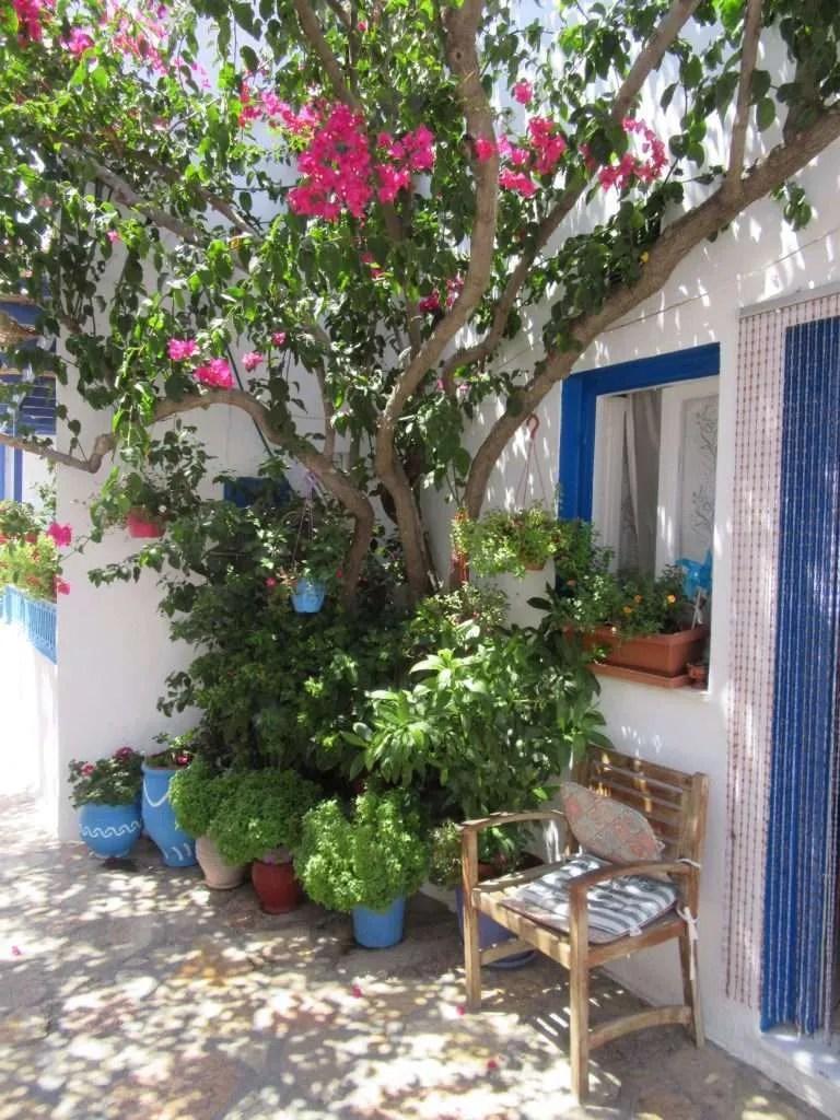 Naxos Griekenland street Old Town