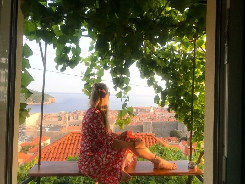 view Dubrovnik Kroatië Old Town