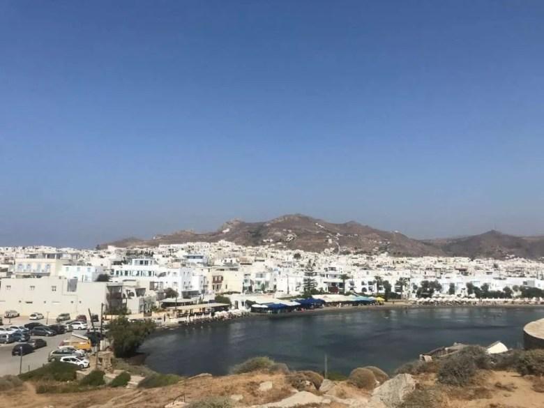 Naxos Griekenland Chora view
