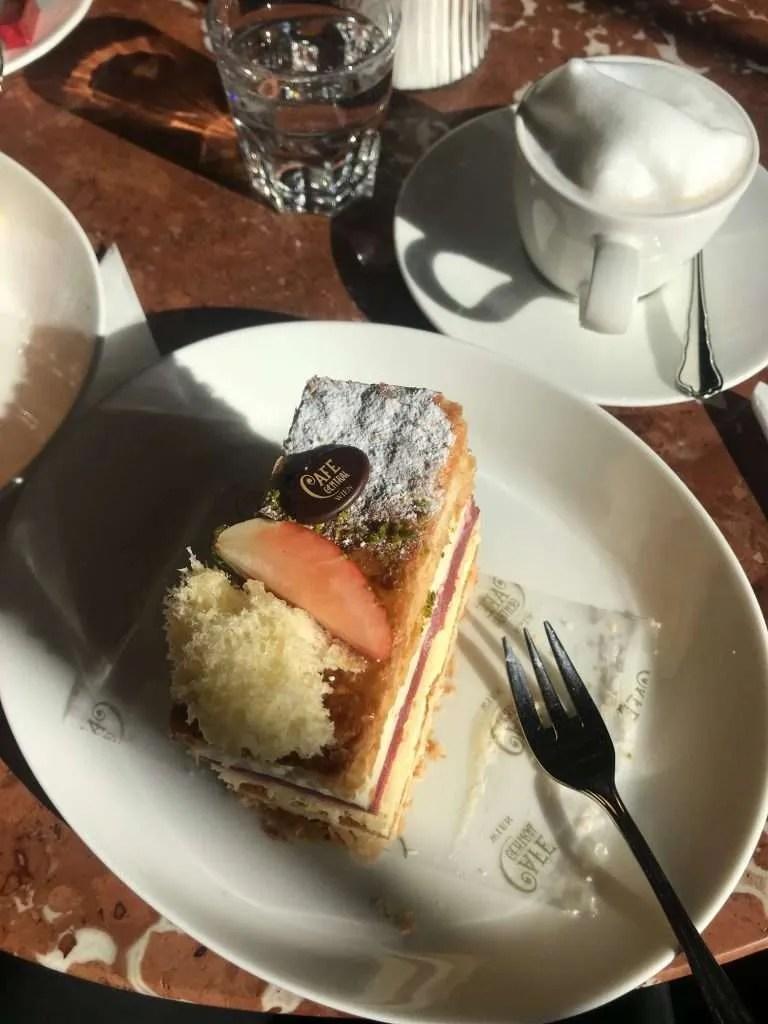Cake Taart Wenen Café central