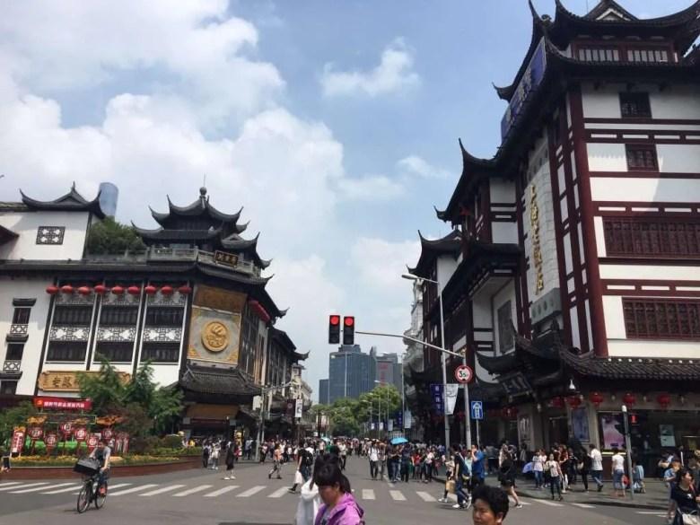 Old City Shanghai streetview