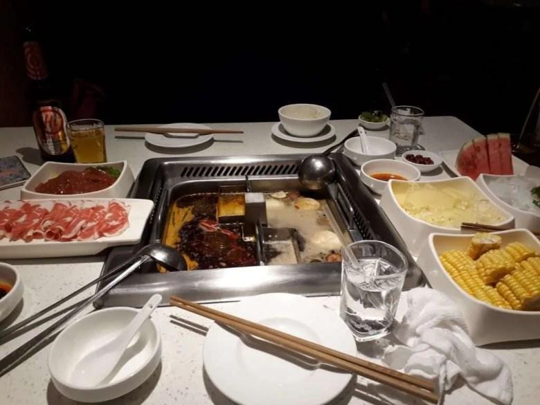 Hot Pot China eat food diner