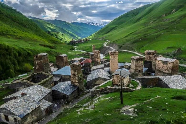 20 Svanetië - Ushguli