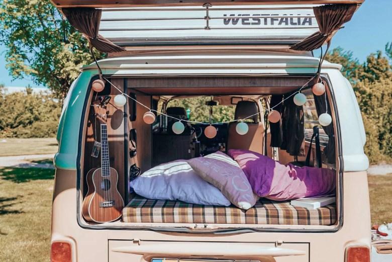 Kamperen met een Volkswagen Camper