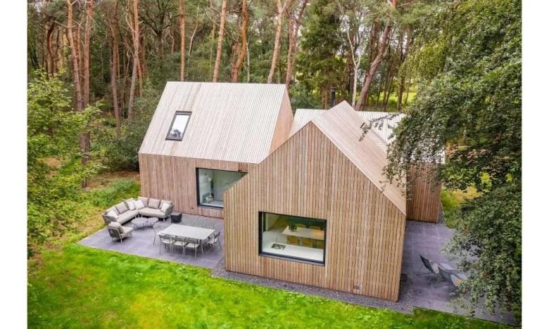 Bos villa Nederland