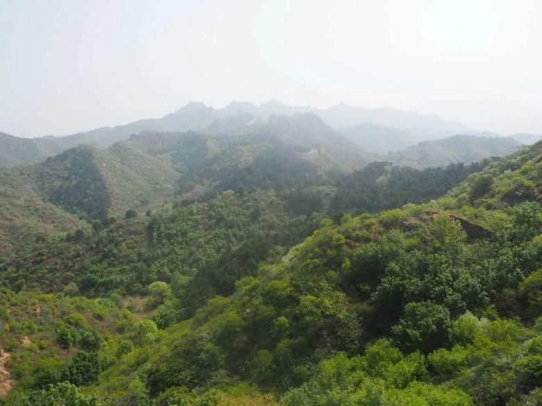 view mountains China