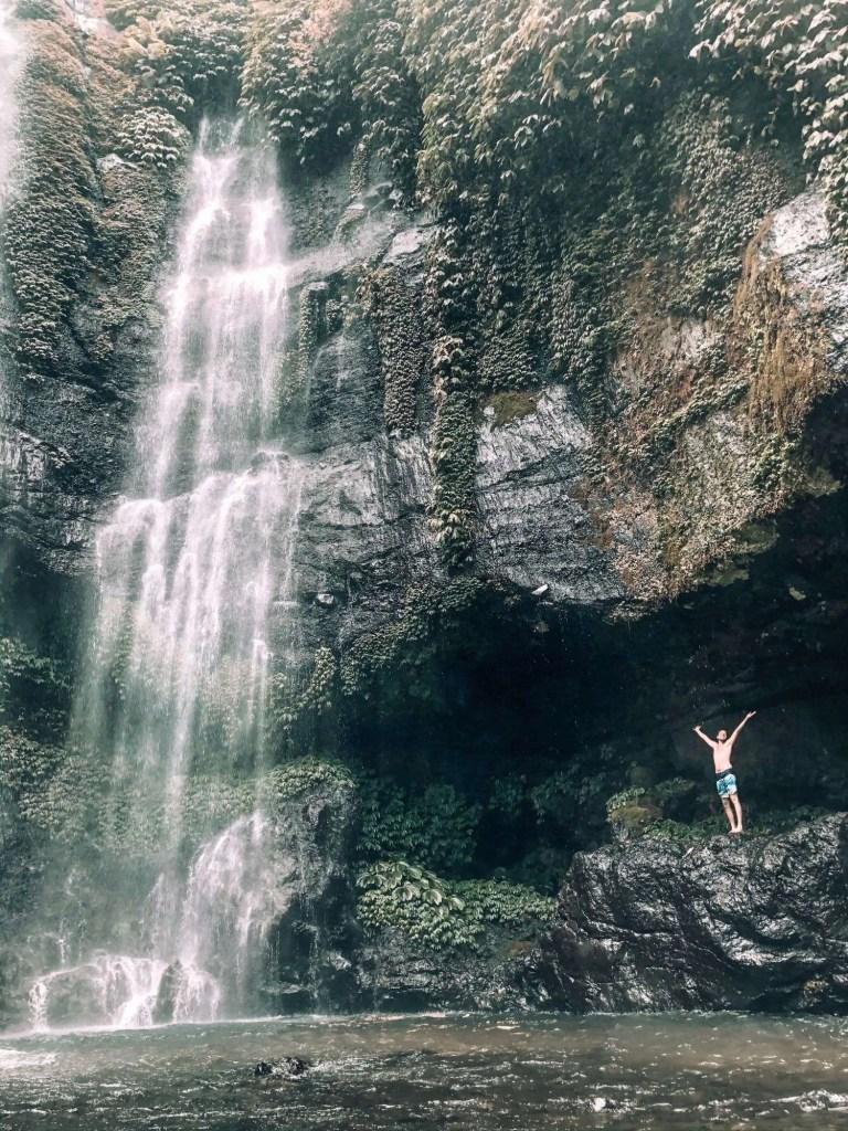 watervallen Bali