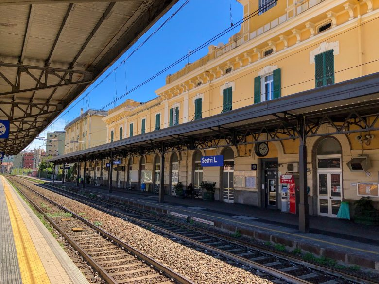 Reisroute Italië station