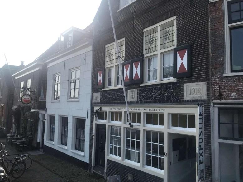 De huizen van Spaarndam