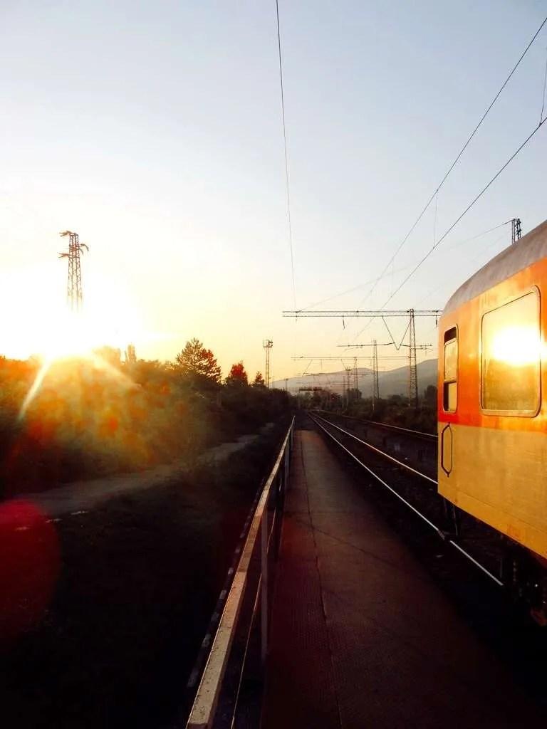 Bulgarije treinstation