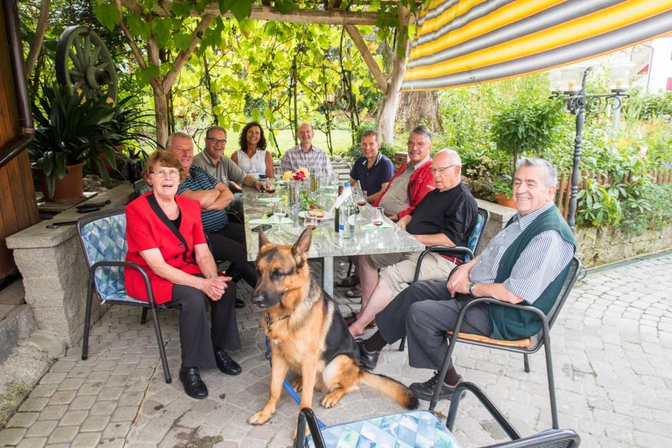 bei Familie Sommer im Baumgarten-1