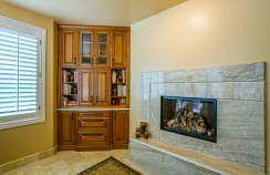 After: Kitchen Fireplace