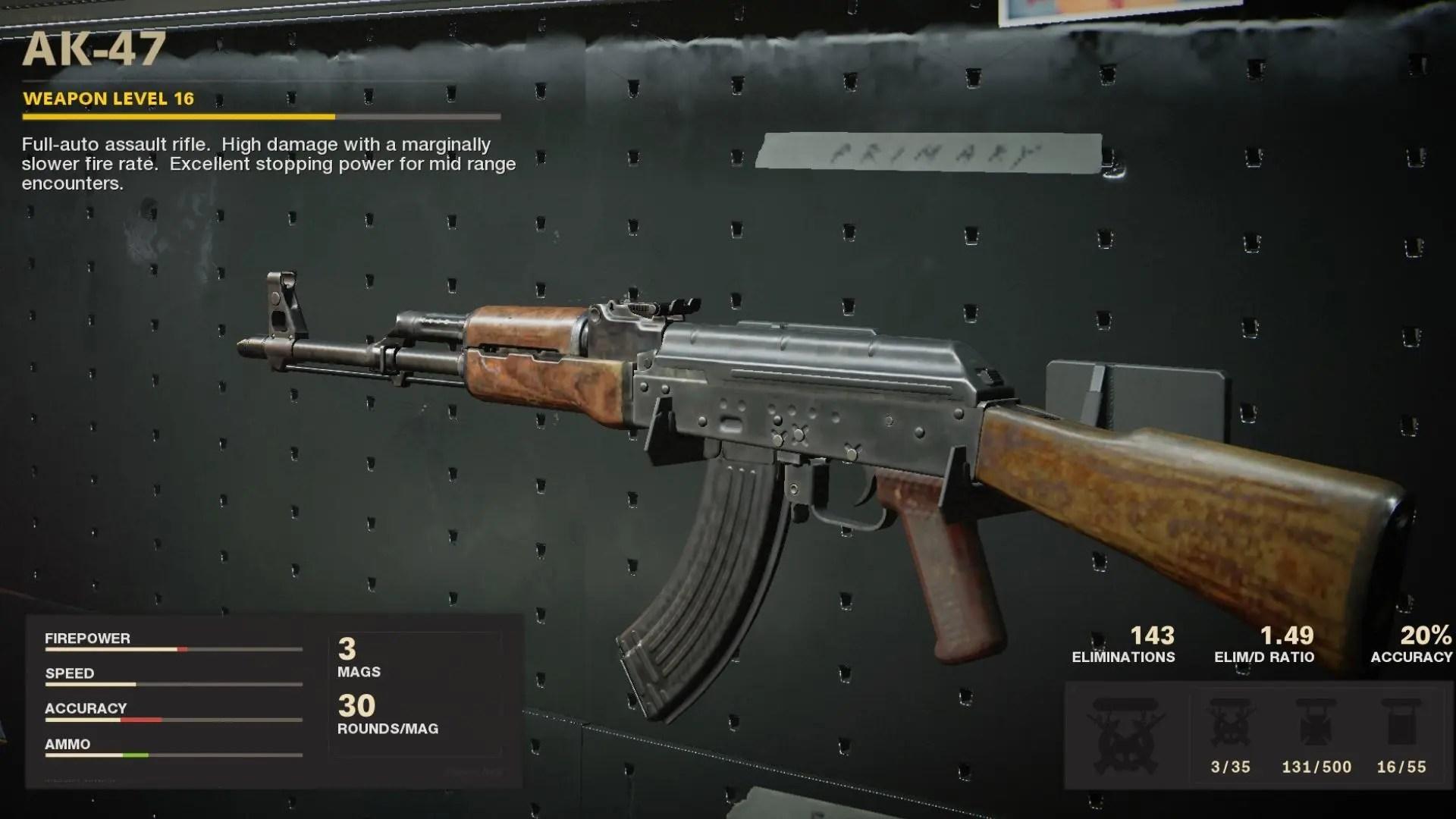 【CoD:BOCW】AK-47の性能 使用率No.1のAR