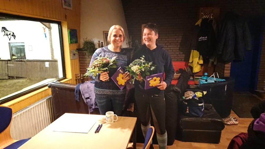 Die Ausbilderinnen: Sabine Pirker (l) und Kirsten Teich (r)