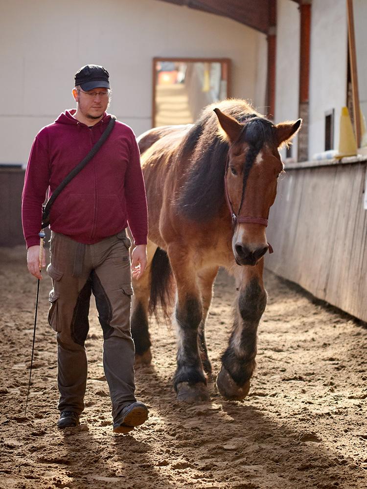 Zirkuskurs mit Heidi Hafen: Jörg und Toni