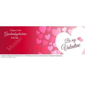 Geschenkgutschein Valentinstag 3