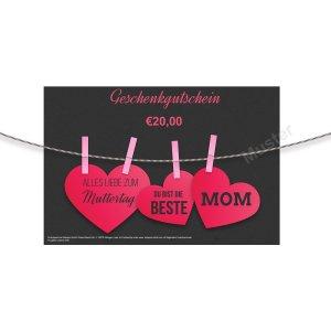Geschenkgutschein Muttertag 1