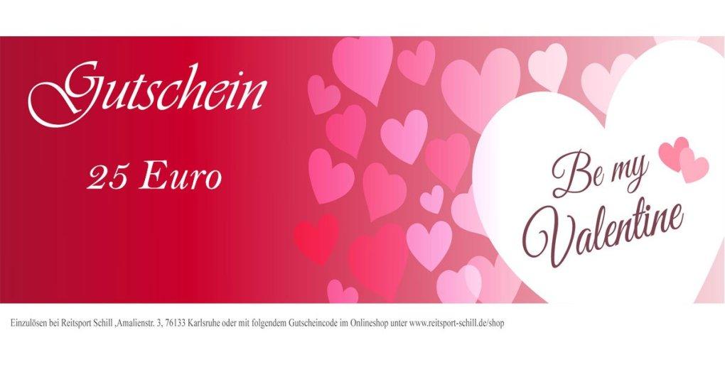 Gutscheine zum Valentinstag