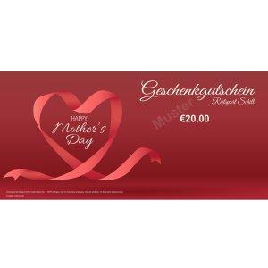 Geschenkgutschein Muttertag 3