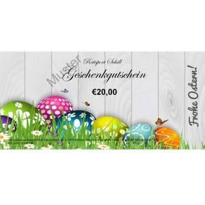Geschenkgutschein Ostern 4