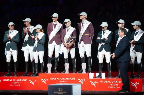Monaco Aces,Shanghai Swans,Madrid in Motion und Jan Tops