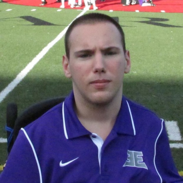 Zach Harris serves as Assistant Head Coach for the Enforcers