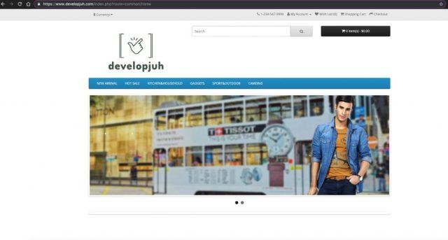 DevelopJub_Homepage