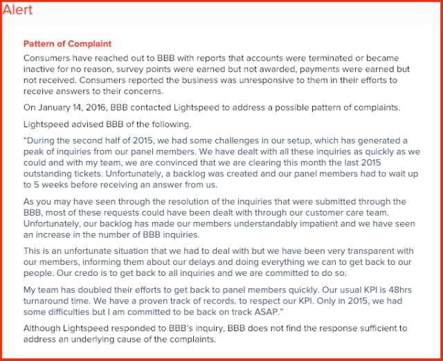 Lightspeed_BBB_Complaints
