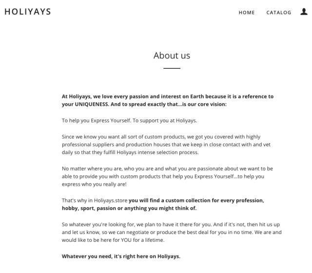 HoliyaysStore_AboutUs