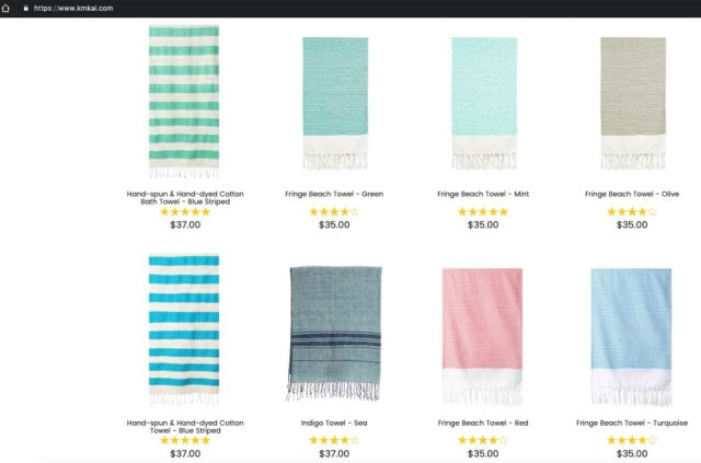 Kmkai_Beach_Towels