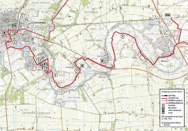 linge route Leerdam Beesd