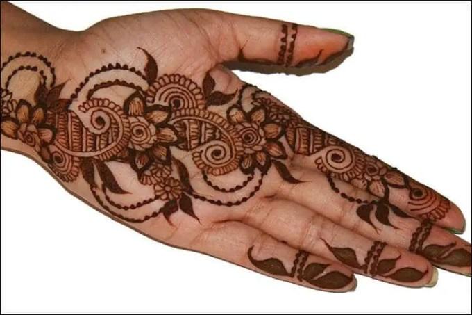 lukisan tangan henna