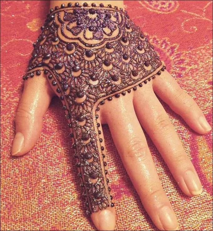 desain henna untuk pemula