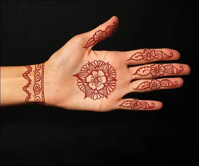 contoh henna