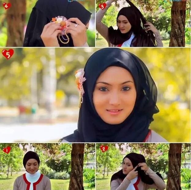 hijab paris untuk santai