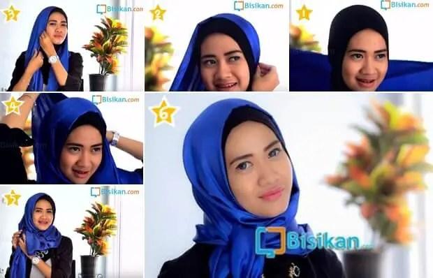 model hijab pashmina semi formal