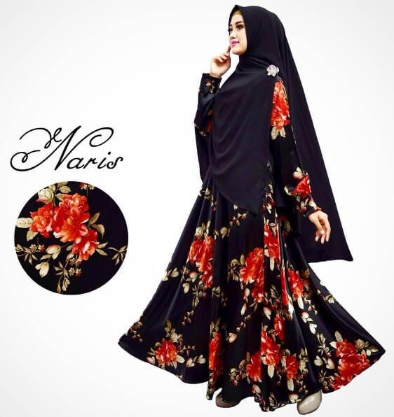 baju gamis muslimah terbaru