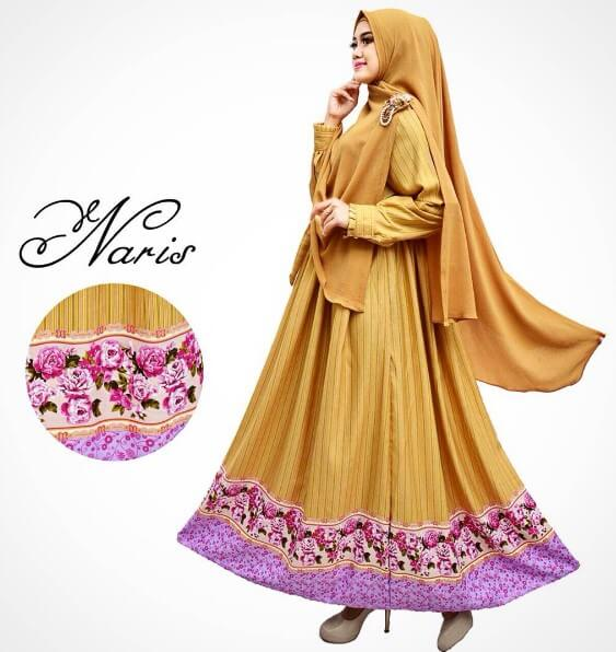 100 Model Baju Gamis Syar I Muslimah Terbaru 2018 Rejeki
