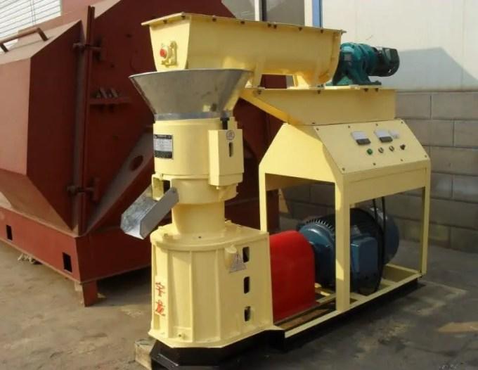 mesin wood pellet kapasitas 300-350kg