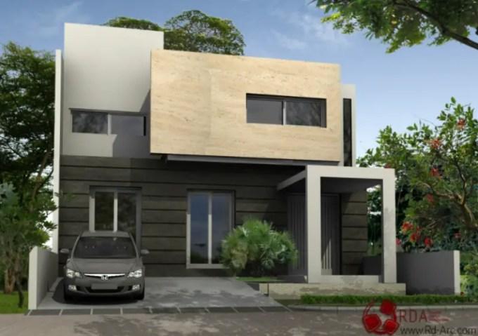 desain rumah minimalis garasi luas