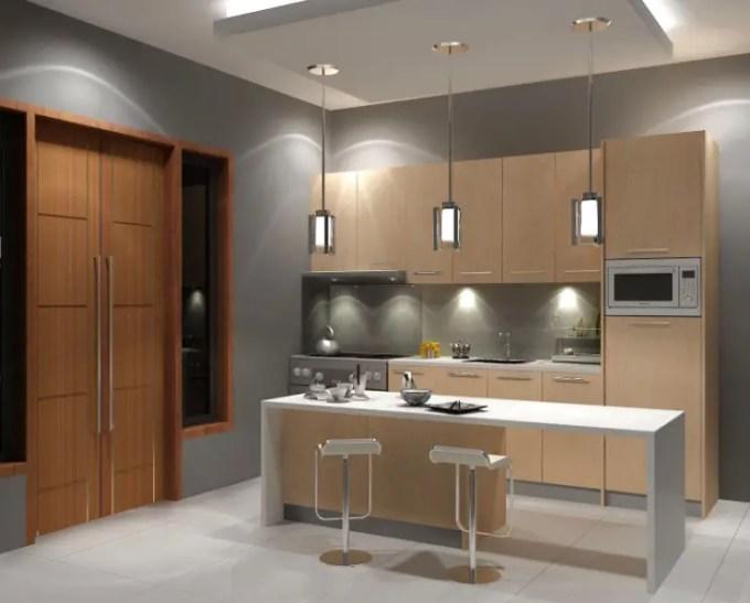 interior rumah minimalis bagian dapur