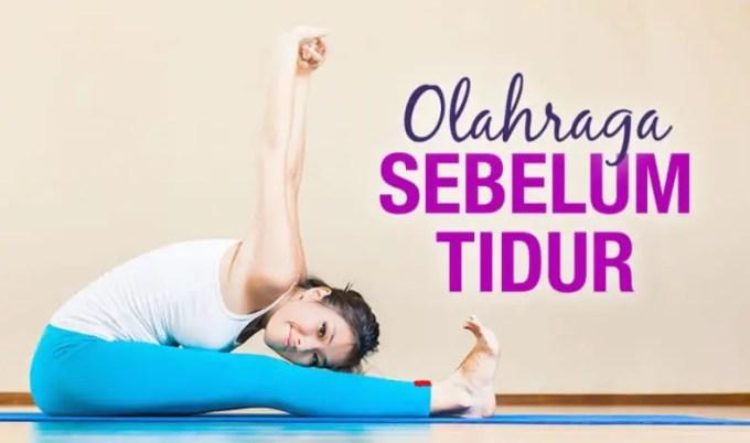 manfaat yoga sebelum tidur