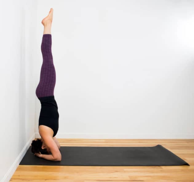 gerakan yoga headstand