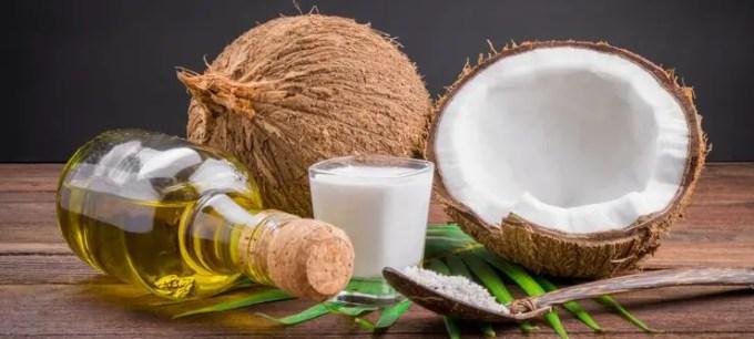 bahan bahan untuk membuat minyak kelapa