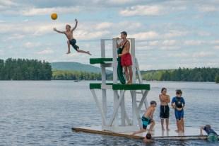 Fun at Echo Lake