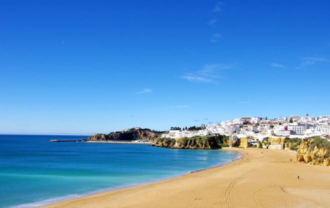 Albufeira - Algarve i Portugal